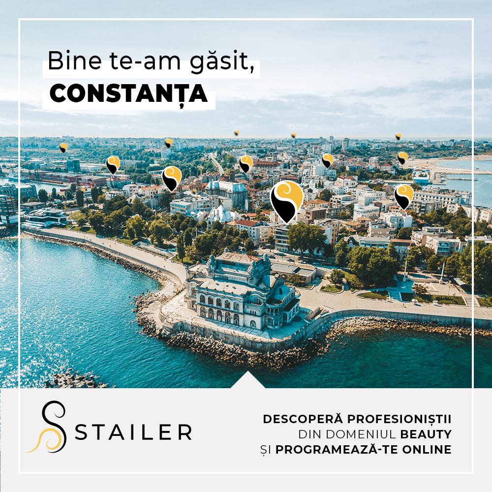 programare la salon in Constanta cu Stailer